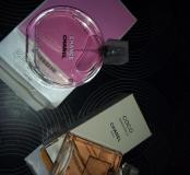Chanel tendre100 ml mademoiselle 50ml