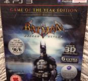 Batman Arkham Asylum ps3 Game of the Year Edition