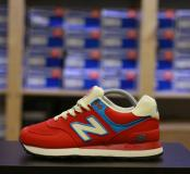 35-38 New Balance 574 Rugby Pack Red