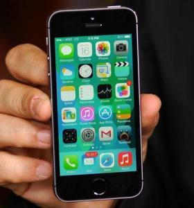 iphone 5S space grey(16 гб)