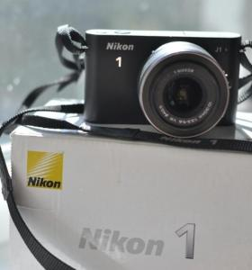 Фотокамера Nikon 1 j1 kit 10-30 mm vr black