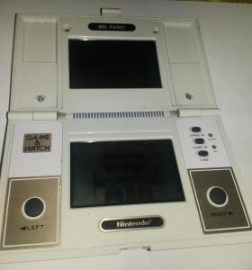 Game and watch oil panik