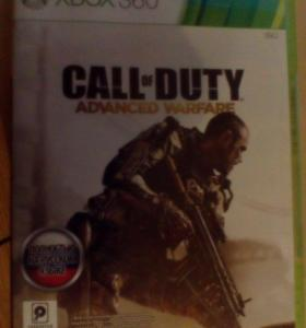 Игра на xbox 360 call of duty
