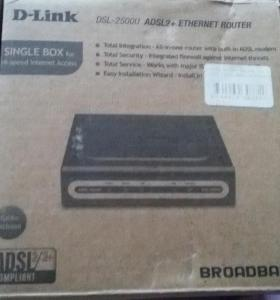 Модем D - Link DSL - 2500 adsl2+ ethernet router