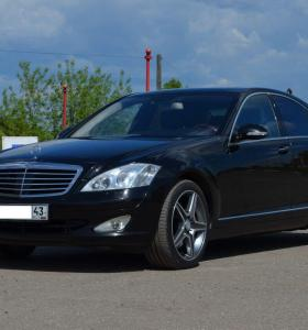 Mercedes Benz S-klass 2009
