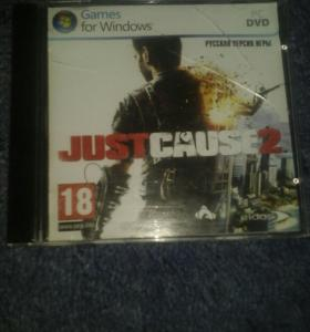 Диск Just Cause 2