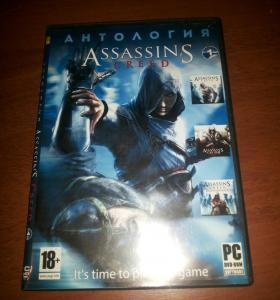 Диск с анталогией assassin cred. 3 части