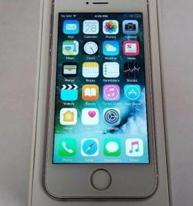 iPhone 5S 16Гб. silver