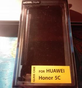 Чехол Glass Case for HUAWEI Honor 5c