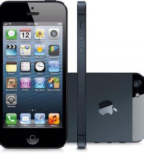 Новые iPhone 5 Black