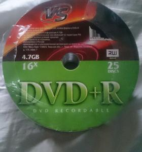 Диски VS DVD-R 4.7Gb