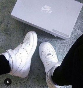 Nike Air Force Кожа