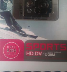 Action cam HD DV Sports