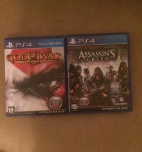 God of war 3, assassins creed syndicate