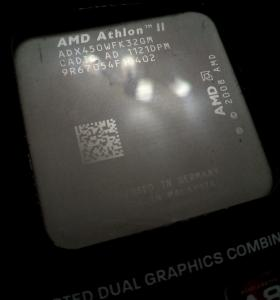 Процессор. AMD Athlon II X3. Socket AM3.