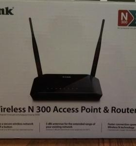 D-Link Wireless N 300 Access Point & Router