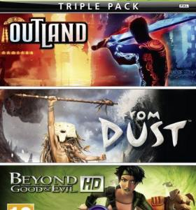 Outland / From Dust / Beyond Good Evil Xbox 360