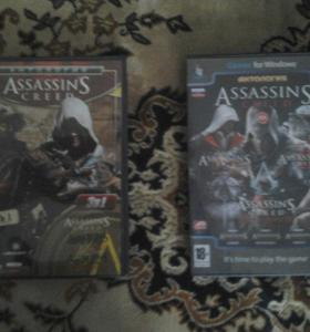Два диска Assasin's Creed