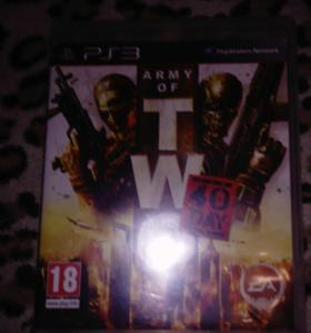 Игра на ps3 Army of TWO 40 day