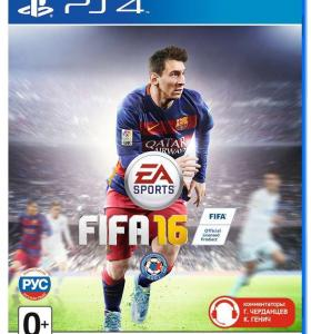 Диск FIFA 16 PS4
