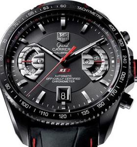 ⌚ Часы TAG Heuer Grand Carrera Calibre 17 RS ☝☭❗ 0434wy8FI