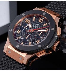 ⌚ Часы Hublot Big Bang Gold ☝☭❗ 04130qTUB