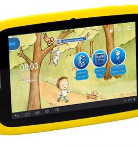 "Планшет 7"" Qumo Kids Tab 2 4Gb для детей"