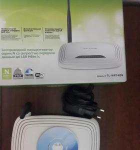 WiFi router TP-LINK TL-WR740N