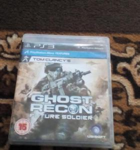Ghost Recon диск на PS3