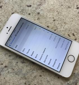 iPhone 5s gold 32 Мб