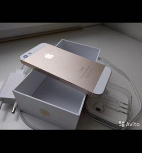 iPhone 5s gold 16 Гб