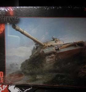 Пазлы Puzzle 1000 World of Tanks