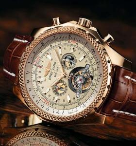 ⌚ Часы BREITLING Bentley Mulliner Tourbillon ☝☭❗ 032p619Rb