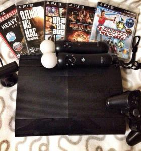 Sony Playstation 3 250гб, Игры, PS move