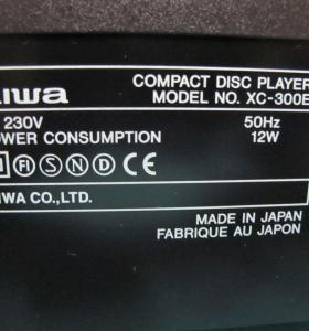 Cd Player Aiwa CX-300 E