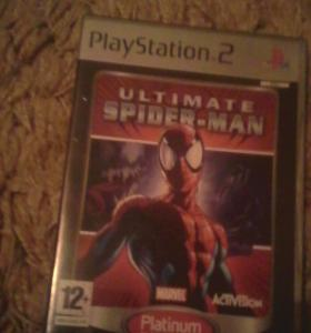 Ultimate spider man на PlayStation's 2
