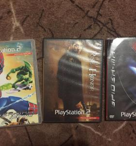 PlayStation  2 диски 6 диска 350
