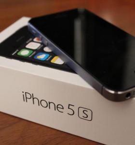 iPhone 5s 16 gb. Space gray