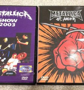 Metallica Live St.Anger DVD футболка