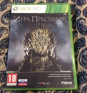 Игра XBOX 360 Game of thrones