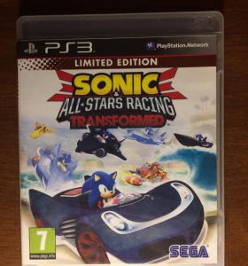 """Sonic & All-Stars Racing Transformed"" на PS3."