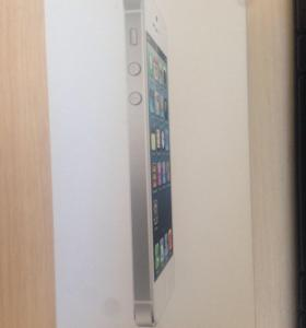 ОБМЕН IPHONE 5 64gb SILVER