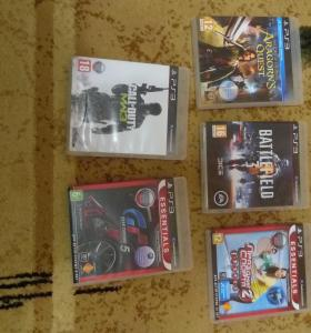 Playstation 3 +диски +PS move