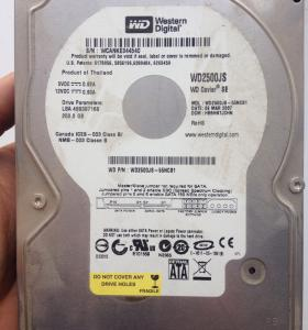 Western Digital 250 Gb