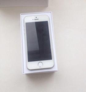 iPhone 5s silver, 16 gb.