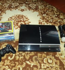 PS3 + MOVE + игры