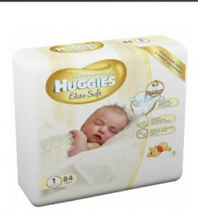 Подгузники Huggies Elite Soft 1, 84шт/уп