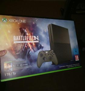 Xbox One S BF 1 Edition + 3 Игры