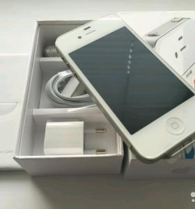 Новый iPhone 4s White 16Gb (Чек/Гарантия)