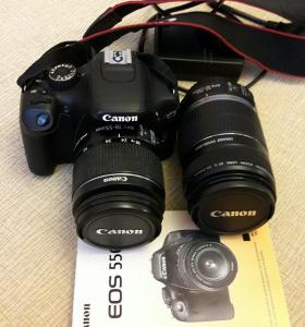 Canon 550D, объективы  EF-S 18-55, EF-S 55-250.